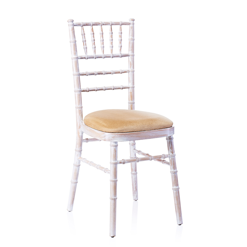 Limewash Chiavari Chair Hire Dorset Devon