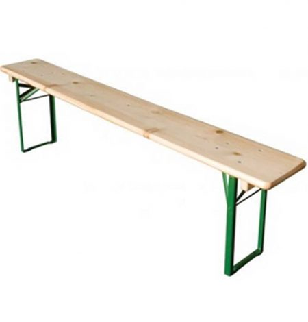 6ft wooden bench hire