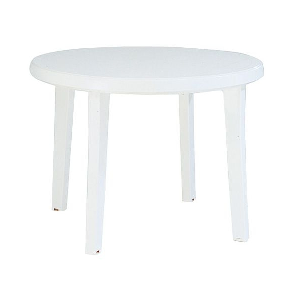 Patio Table White