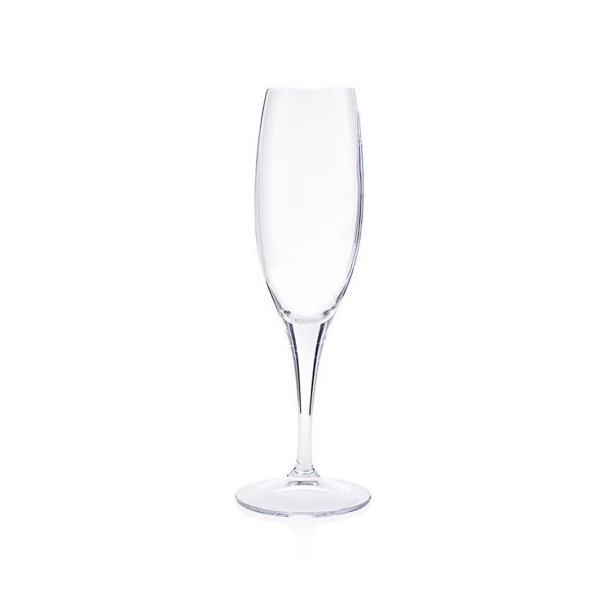 A sensation champagne flute available to hire from Rochesters Event Hire