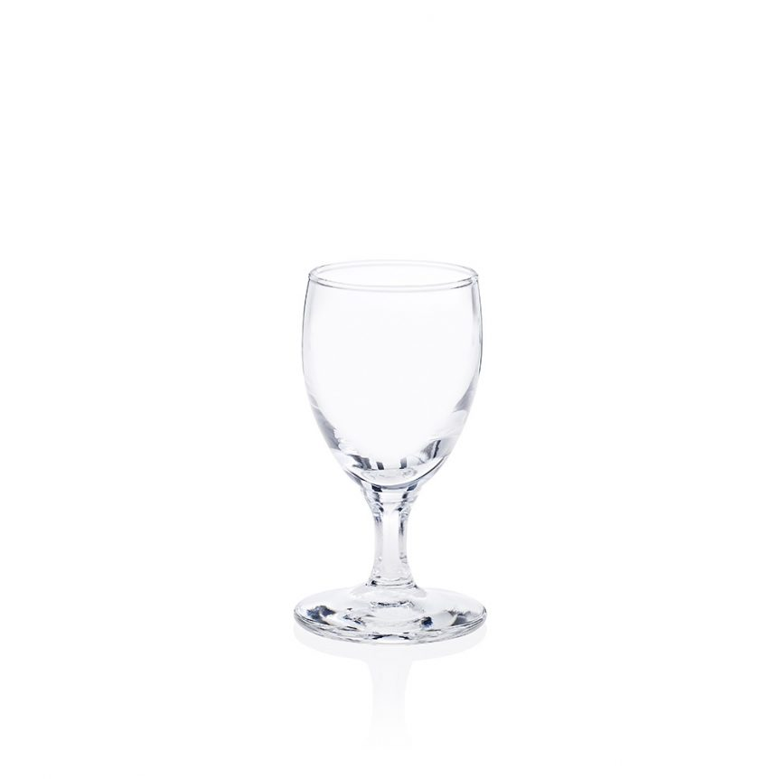 A port glass available to hire from Rochesters Event Hire