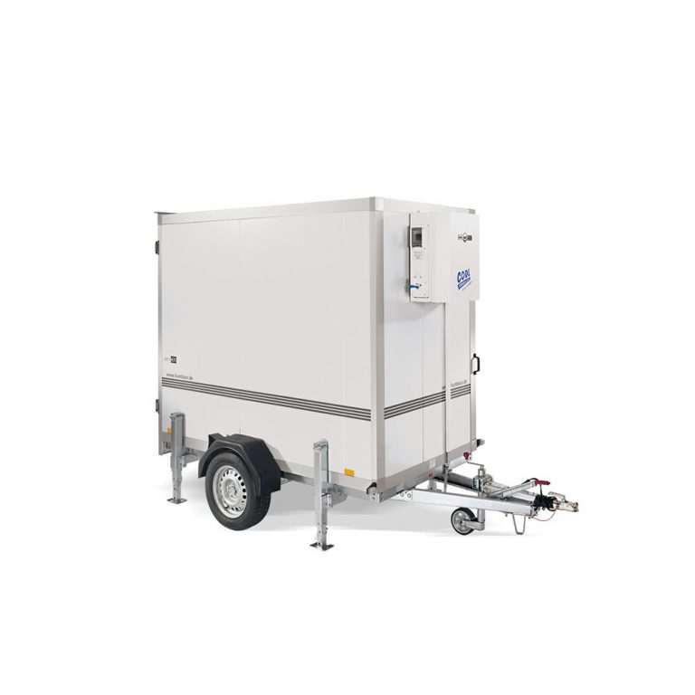 a small refrigerated trailer suited for weddings and events