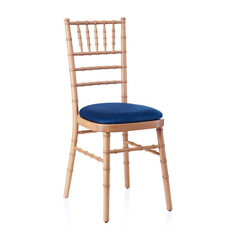 event hire chivari chair natural navy