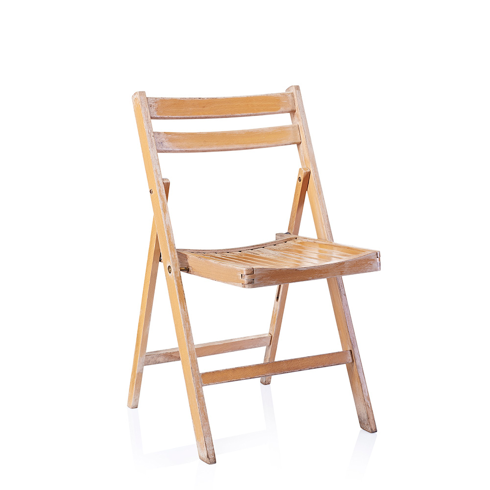 Folding Wooden Chair Hire Dorset Devon Somerset