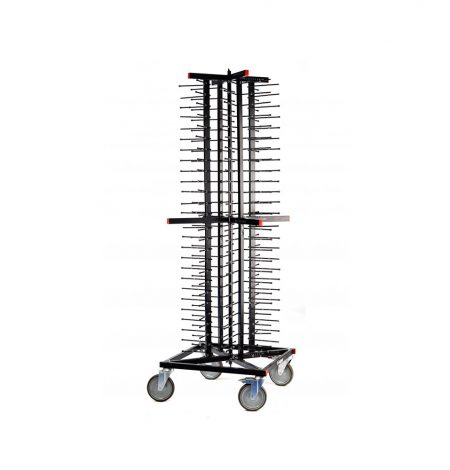 A jackstack plate rack ideal for storing up to 100 plates
