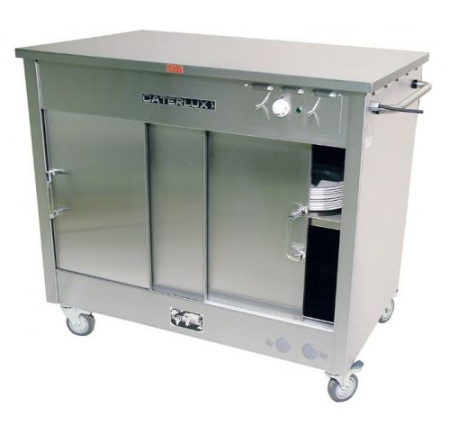 stainless steel hot cupboard hire ideal for keeping plates warm