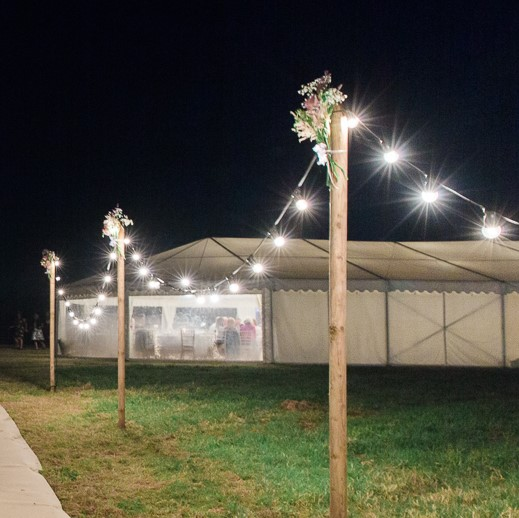 Festoon Lighting Hire Dorset Devon Somerset Festoon