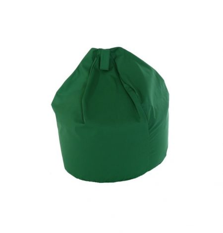 a green bean bag that can be used indoors or outdoors for summer parties and weddings