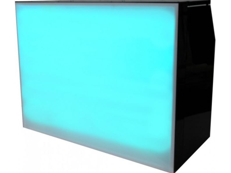 An led bar unit that changes colour