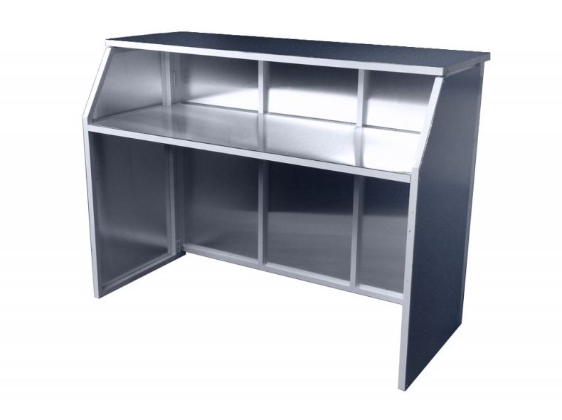 Brushed Silver Bar Unit