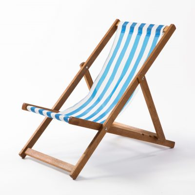 a traditional deck chair for hire